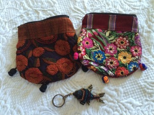 bags and keychain souvenirs
