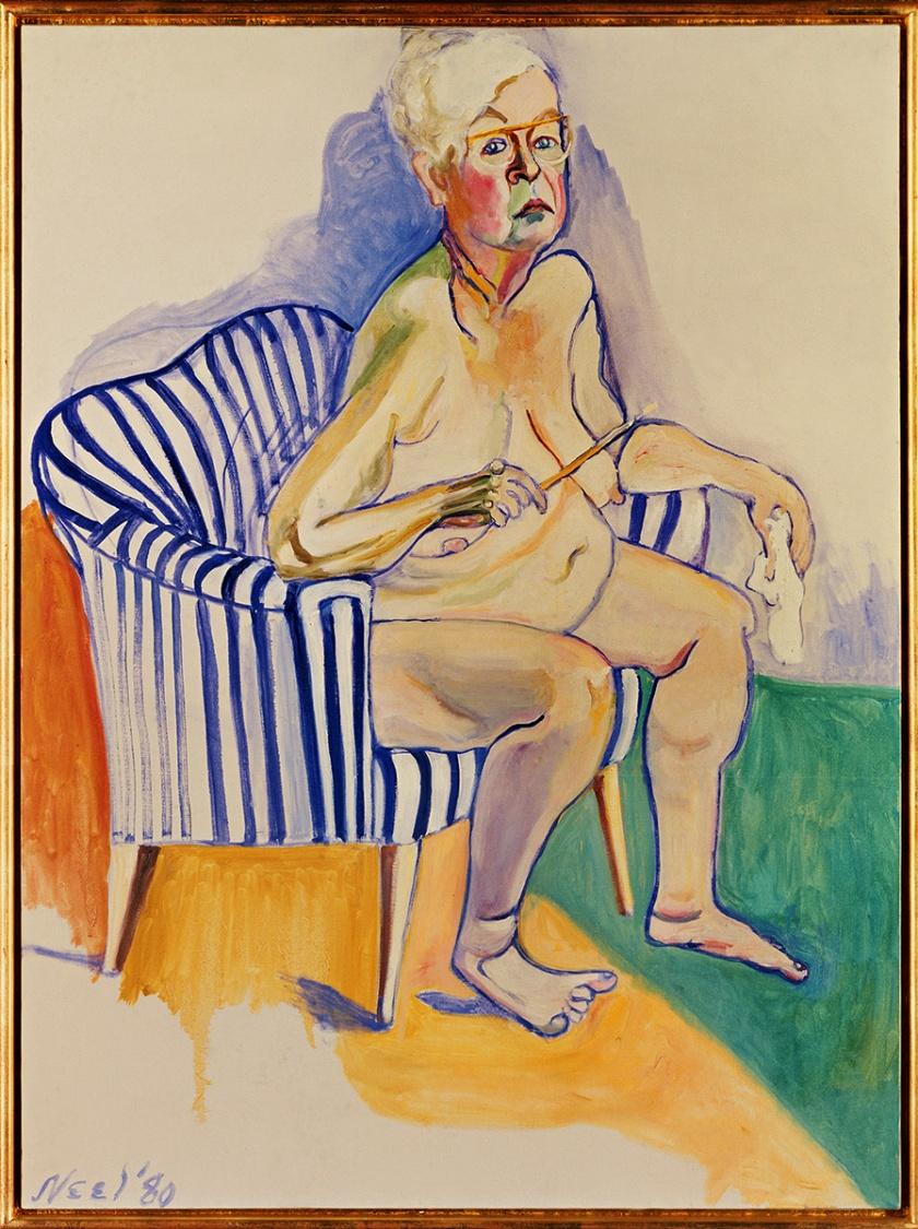 Alice Neal, Self-Portrait